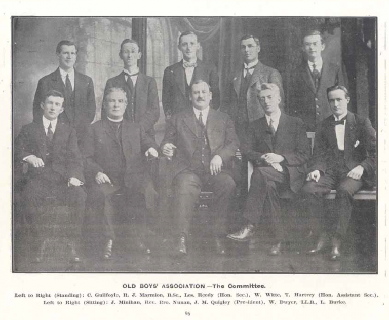 1934 Old Boys Committee