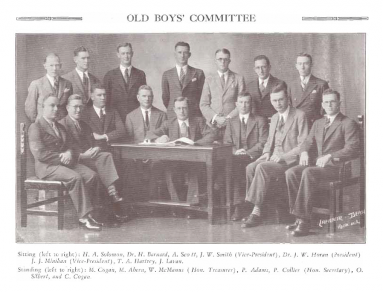 1919 Old Boys Committee